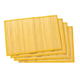 Bamboo Placemats - Set of 4, One Size