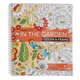 Adult Color & Frame Garden Coloring book, One Size