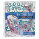 Adult Color & Frame Sea Coloring Book, One Size