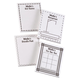 Personalized Activity Note Pads Set of 4, One Size