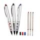 Erasable Puzzle Pens Set of 3, One Size