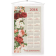 Personalized Vintage Floral Calendar Towel, One Size