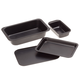 Toaster Oven Basic Pans Set of 4 by Home-Style Kitchen, One Size
