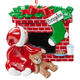 Personalized Waiting for Santa Ornament, One Size