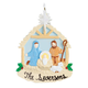 Personalized Nativity Scene Ornament, One Size