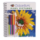 ColorArt Pixel Pictures Coloring Book, One Size