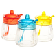 Glass Jars with Spoons, Set of 3 by Home-Style Kitchen, One Size