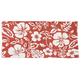 Hibiscus Print Accent Rug, One Size