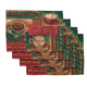 Coffee Placemats, Set of 4, One Size