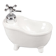 Ceramic Bathtub Shaped Soap Dispenser, One Size