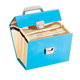 Expanding File Box with Accessories, One Size