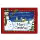 Festive Snowman Greeting Card - Set of 20, One Size