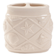 Shell Print Ceramic Toothbrush Holder, One Size