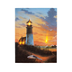 Lighted Lighthouse Canvas, One Size