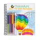 ColorArt™ Dot-To-Dot Pictures Coloring Book, One Size