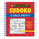 Brain Games Large Print Sudoku, One Size