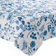 Flowing Flowers Vinyl Table Cover, One Size