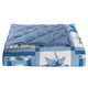 Reversible Star Quilt Print Comforter, One Size
