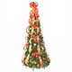 6' Red Poinsettia Pull-Up Tree by Holiday Peak™, One Size