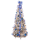 6 ft Snow Frosted Spruce Prelit Pull Up Tree, One Size