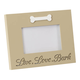 Lighted Live, Love, Bark Picture Frame, One Size