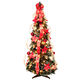 4' Red Poinsettia Pull-Up Tree by Holiday Peak™, One Size