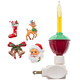 Bubble Night Light with Christmas Clips, One Size