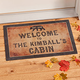 Personalized Cabin Doormat