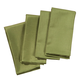 Green Fabric Napkins Set of 4, One Size