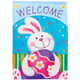 Easter Garden Flag, One Size