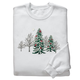 Winter Forest with Cardinals Sweatshirt, One Size