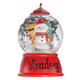 Personalized Snowman Waterglobe Ornament, One Size