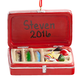 Personalized Tackle Box Ornament Personalized, One Size