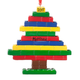Personalized Building Blocks Tree Ornament, One Size