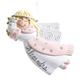 Personalized Flying Angel Ornament, One Size