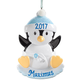 Personalized Baby Penguin Ornament, One Size