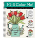 1-2-3 Color Me Garden Coloring Book, One Size