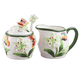 Butterfly Cream and Sugar Set, One Size