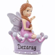 Personalized Purple Fairy Ornament, One Size