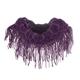 Fringe Knit Infinity Scarf, One Size