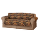 Lodge Print Microfiber Sofa Protector, One Size
