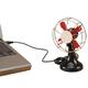 Retro Style USB Fan, One Size