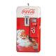 Coca-Cola Santa Claus Vending Machine Ornament, One Size