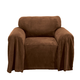 Coral Fleece Chair Furniture Throw, One Size