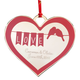 Personalized Lovebirds Ornament, One Size