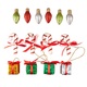Classic Christmas Ornaments, Set of 14, One Size