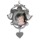 Forever in Our Hearts Pewter Frame Ornament, One Size
