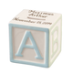 Personalized Baby Block Coin Bank Keepsake, One Size
