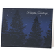 Personalized Peaceful Evening Christmas Card Set of 18 Regular Set, One Size