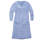 Snap-Front Fleece Robe with Pockets by Sawyer Creek, One Size